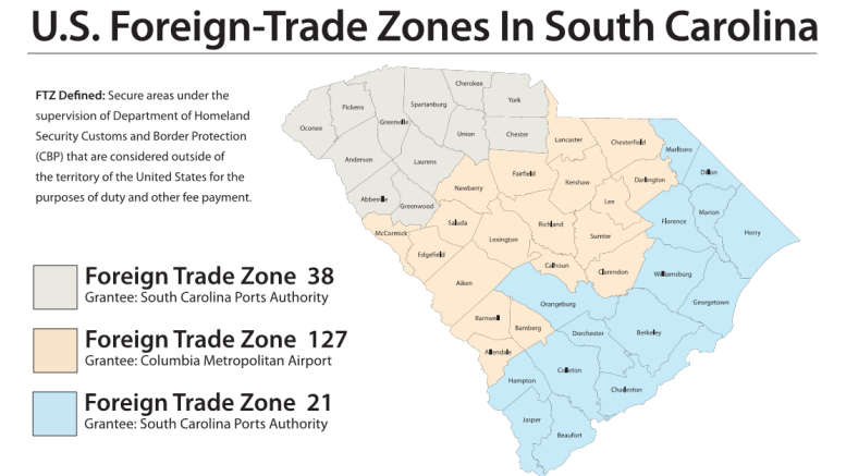 Foreign Trade Zone Key Part of South Carolina Strategy
