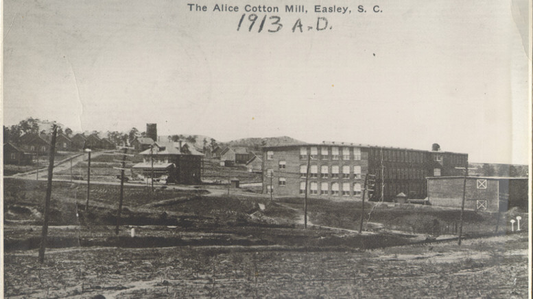 The Story Of Alice Manufacturing Company Manufacturing In South
